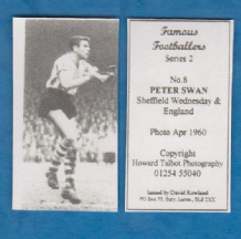 Sheffield Wednesday Peter Swan England 8